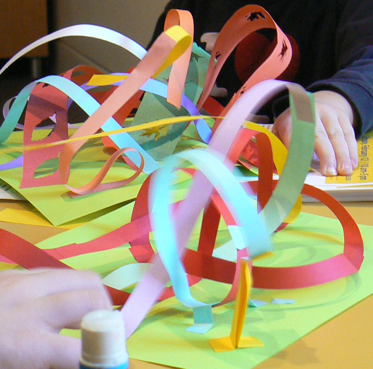 Paper Rollercoasters
