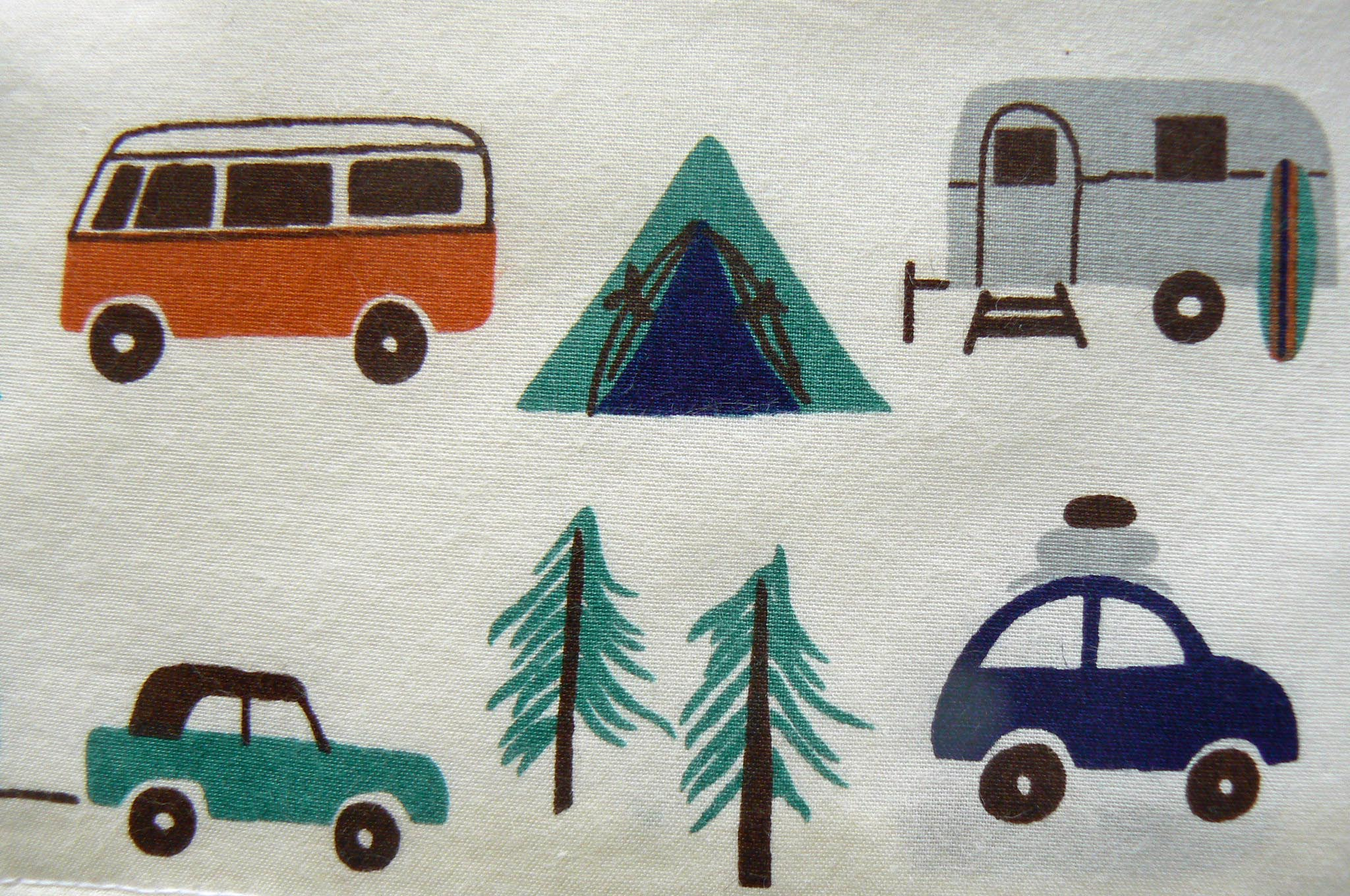 VW Fabric By Yard http://homemadecity.com/2011/03/29/freezer-paper-stencils-vw-bus-pillowcases/