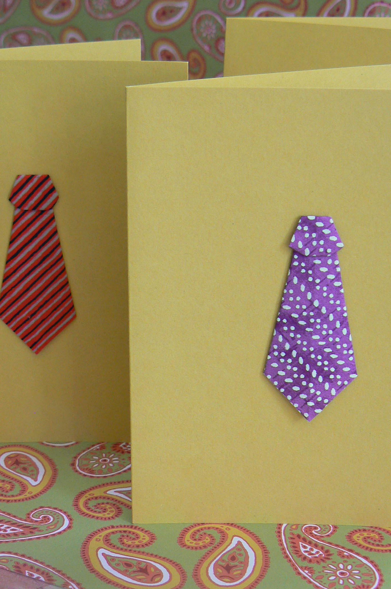 origami ties for great guys