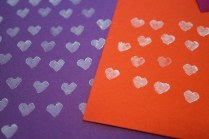 tiny heart prints