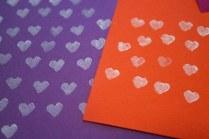 tiny heart prints