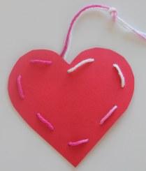 easy stitch heart