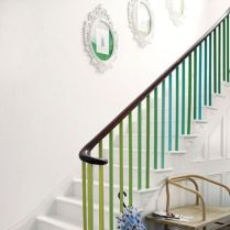 Green banister, apartmenttherapy.com