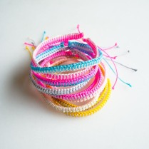 Breezy Friendship Bracelet from Molly's Sketchbook
