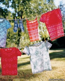 Tie Dye T-Shirts from Martha Stewart