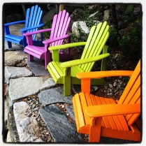 Blue Adirondack Chair by homemadecity