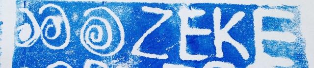 Zeke print by Zeke