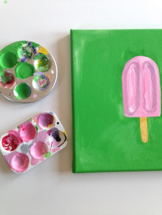 Popsicle Painting by homemadecity.com