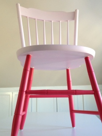 painted chair by homemadecity.com