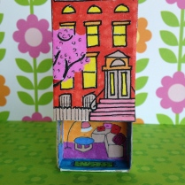 Brownstone Matchbox by homemadecity.com
