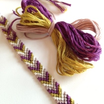 Friendship bracelet by homemadecity.com