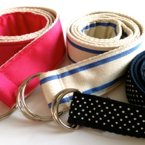 ribbon belt by homemadecity.com