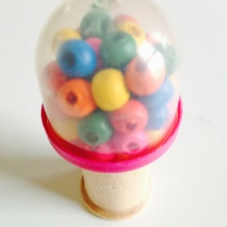 mini gumball machine by homemadecity.com