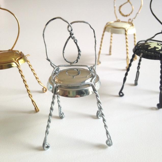 Mini Cafe Chairs by homemadecity.com