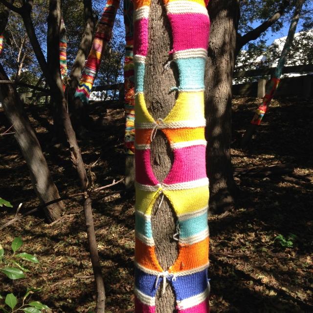 Yarn Bomb 3