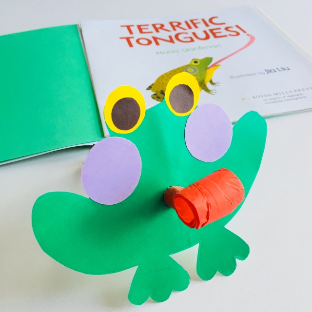 Frog party blower by homemadecity.com