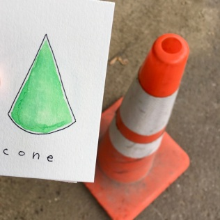 Count on Me cone card