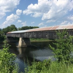 Cornish Covered bridge by homemadecity.com